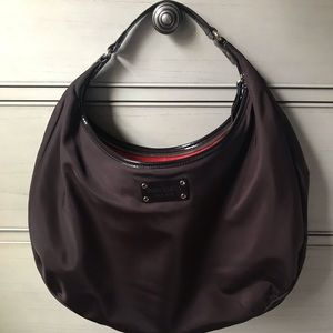 Kate Spade Large Hobo Nylon Bag